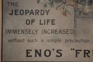 Enos Fruit Salt vintage advertising poster frame 4