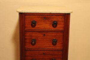 Marble-topped Victorian drawers 1