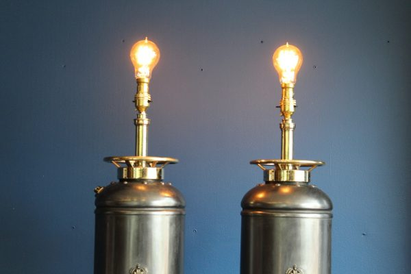 Bespoke fire extinguisher lamps 7