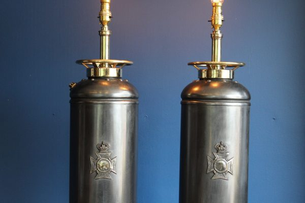 Bespoke fire extinguisher lamps 10