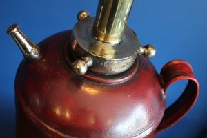 bespoke antique fire extinguisher lamp 2