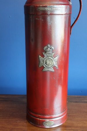 bespoke antique fire extinguisher lamp 3
