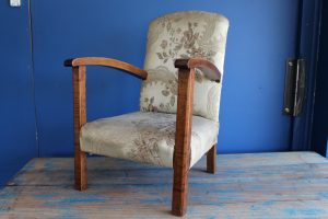 Vintage childs armchair