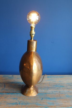 Copper lamp base 1