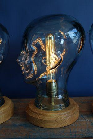Glass display head lamp 1