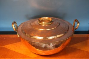 Antique Turkish steaming pot