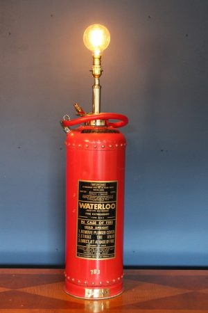 Fire extinguisher lamp 124