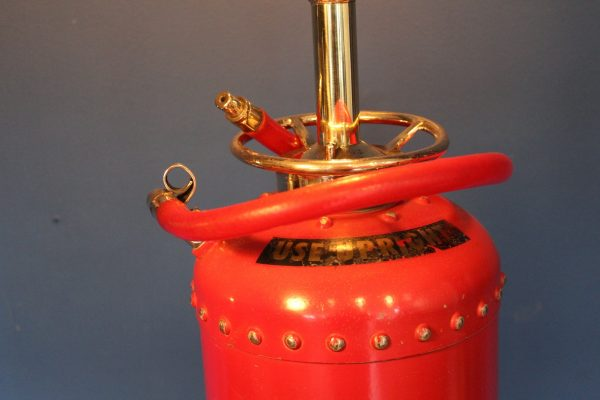 Fire extinguisher lamp 123