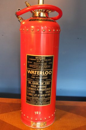 Fire extinguisher lamp 125