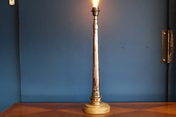Copper and brass lamp 14