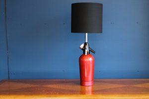 Soda syphon lamp 10