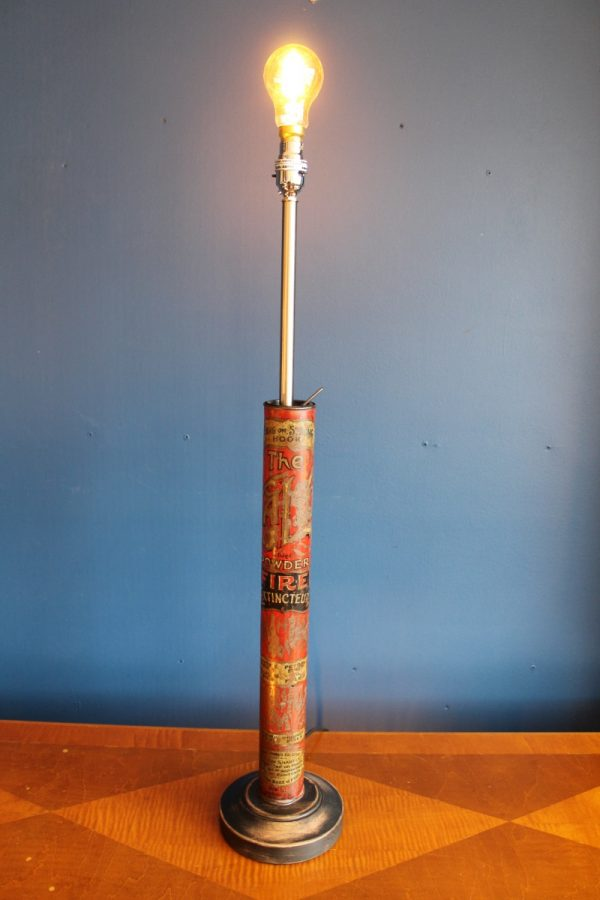Fire extinguisher lamp 74