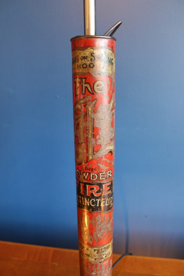 Fire extinguisher lamp 73