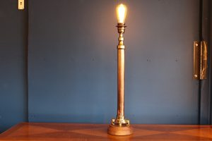 Copper and brass lamp 84