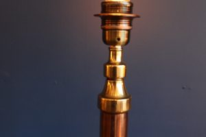 Copper and brass lamp 81