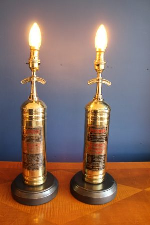 Brass lamp 127