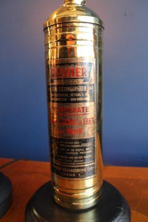 Brass lamp 128