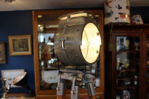 Bullfinch lamp on tripod
