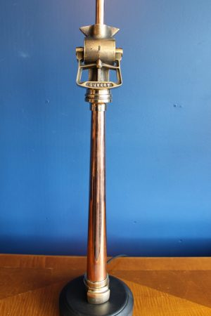 Brass and copper lamp 380
