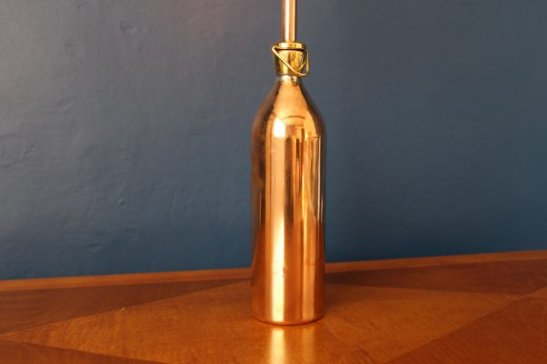 Brass and copper lamp 140