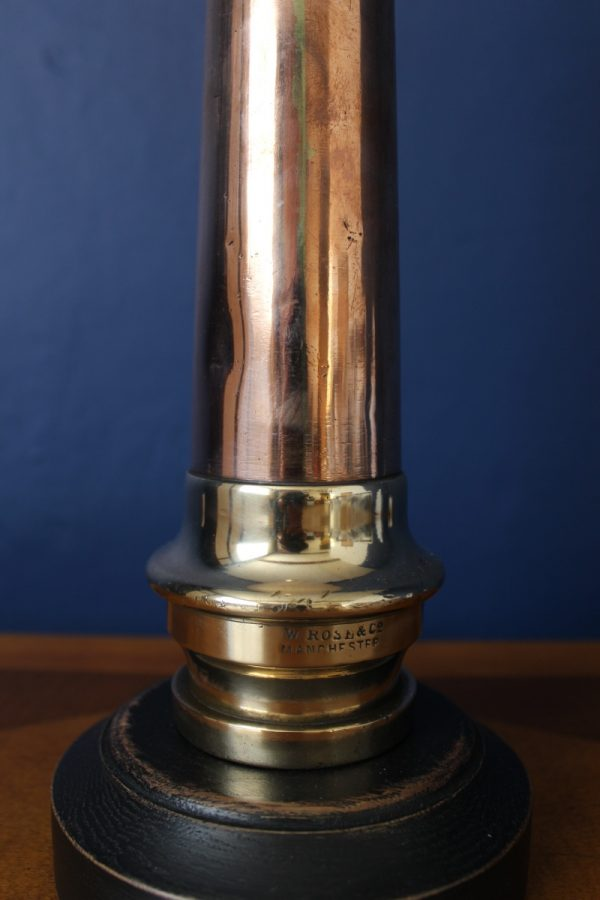 Brass and copper lamp 220
