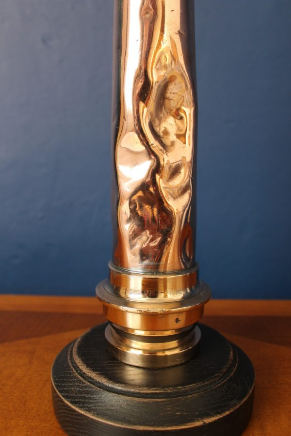 Brass and copper lamp 228