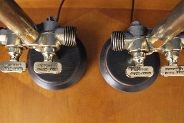 Beer barrel tap lamps 1