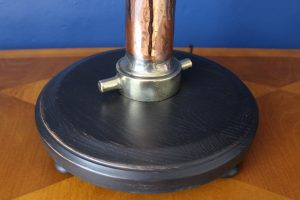 Brass and copper standard lamp 2