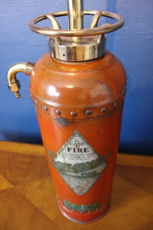 Fire extinguisher lamp 961
