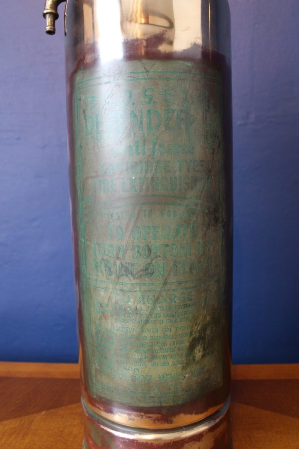 Fire extinguisher lamp 636
