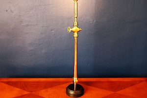 upcycled recycled bespoke copper brass fire branch nozzle light lamp 13