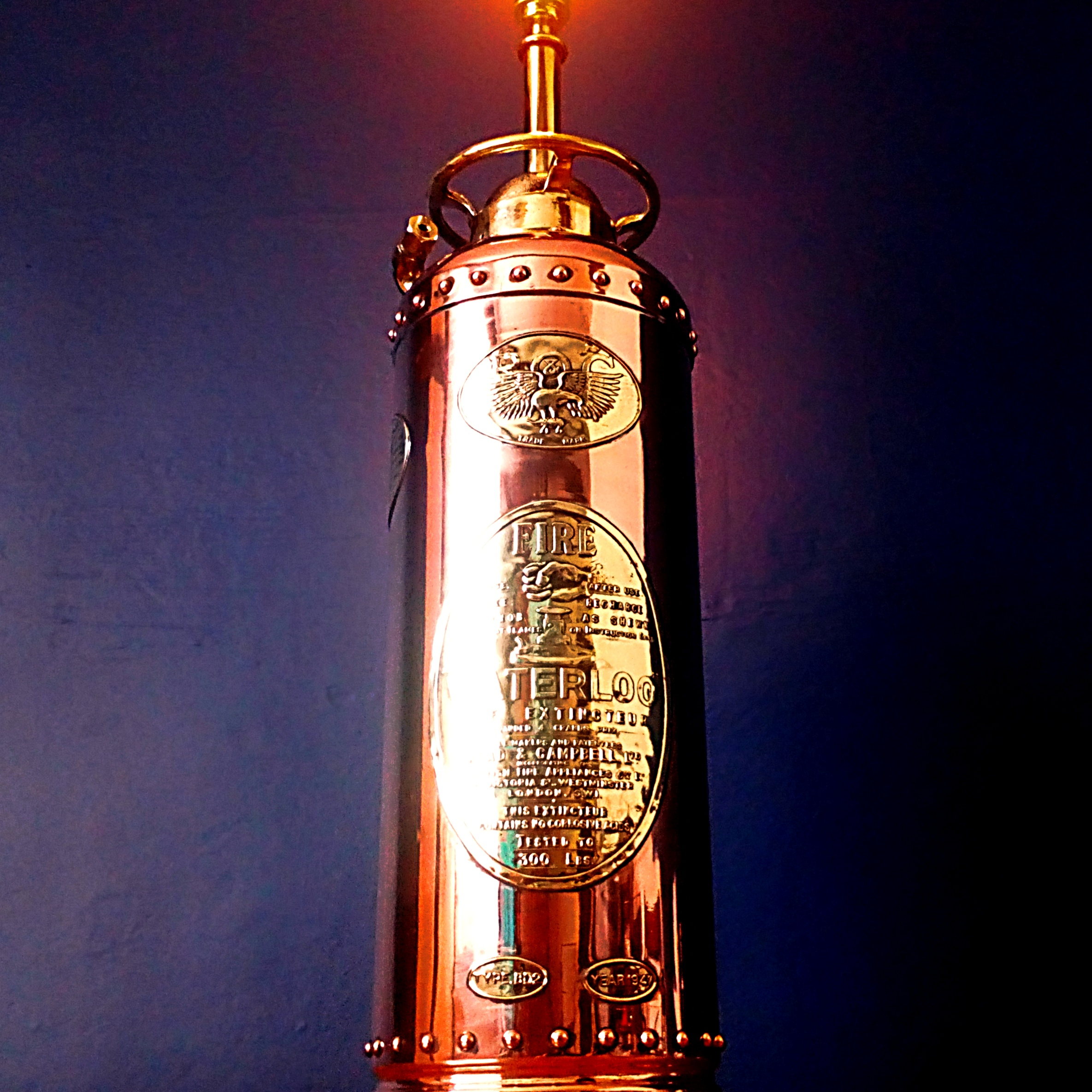 beauty upcycling lamp lighting