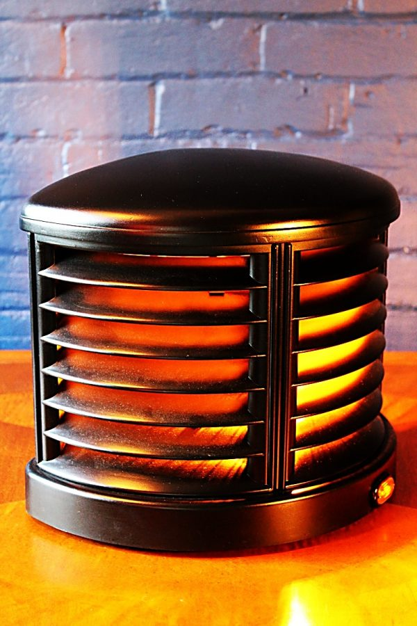 Upcycled recycled bespoke vintage heater lamp light 2