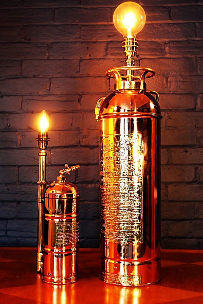 Order now George Juniper upcycled bespoke lighting
