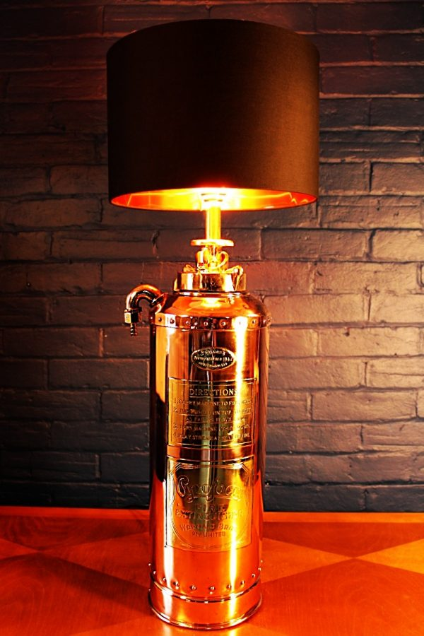 Fire extinguisher lamp 9