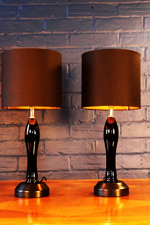 Beer pump table lamp for sale