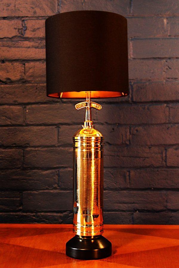 Fire extinguisher lamp by Tetra for sale