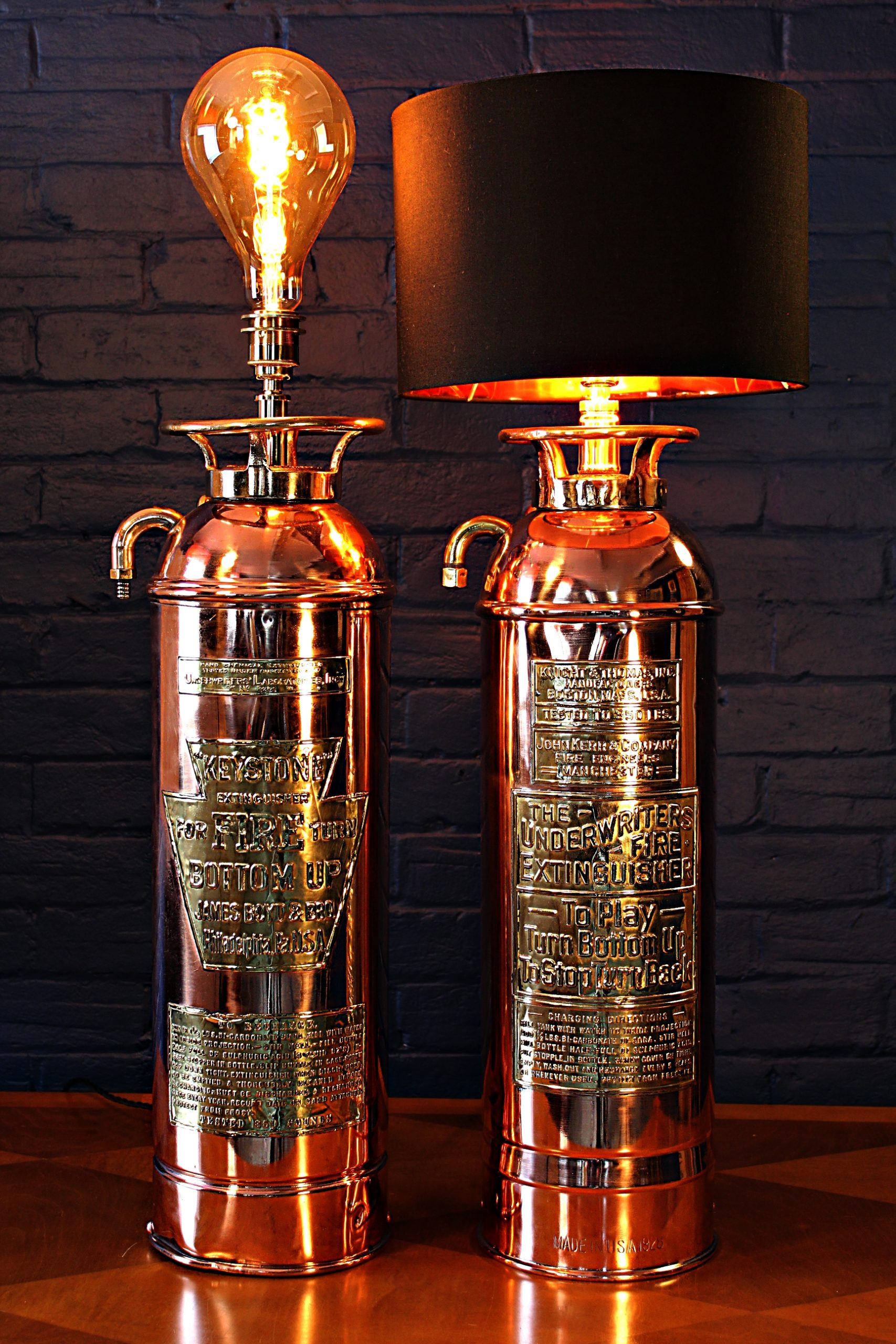 Quirky and cool bespoke antiquelighting